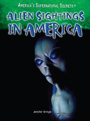 cover image of Alien Sightings in America